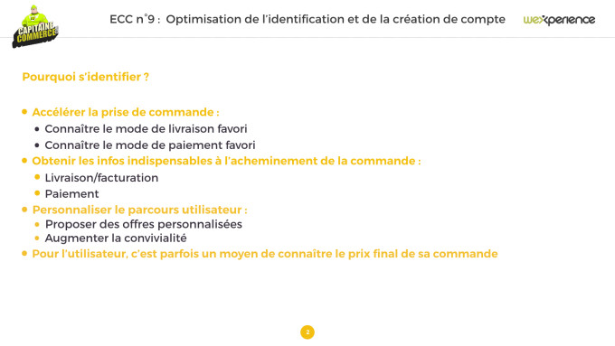 Optimisation tunnel de commande