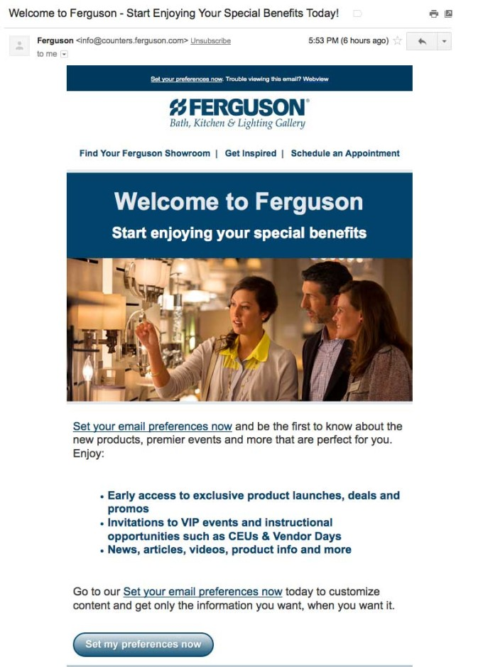 FergusonSetPreferencesWelcomeEmail-b2b-welcome-emails