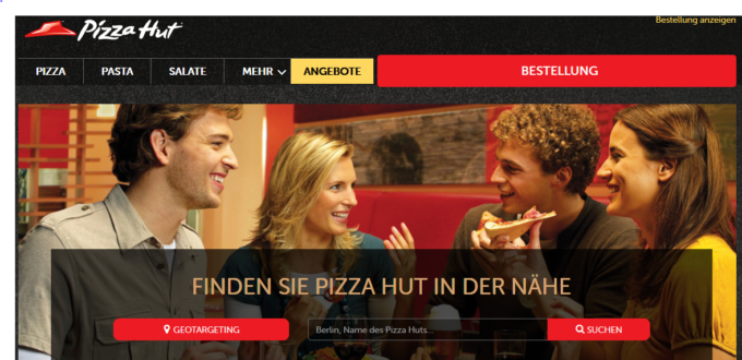 Store Locator Pizza Hut Allemagne