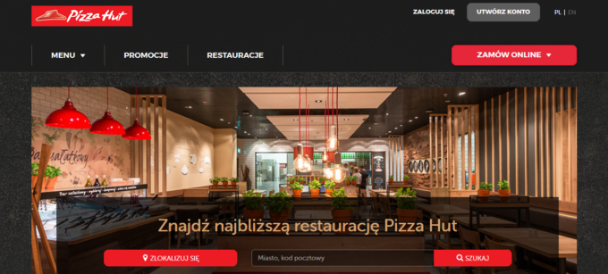 Store Locator Pizza Hut Pologne